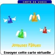 Joyeuses Pâques - JCarte de voeux virtuelle