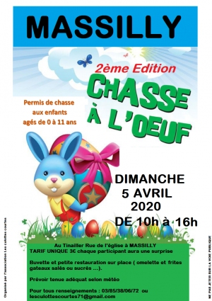 Chasse aux oeufs 2020 à Massilly [13 - 584]