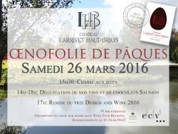 Chasse aux œufs 2016 au Château Larrivet Haut-Brion [301]