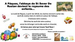 Chasse aux oeufs à l'abbaye de St-Sever de Rustan [314]