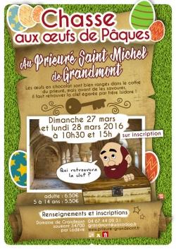 Chasse aux oeufs de Pâques au Prieuré St Michel de Grandmont [321]
