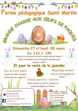Grande chasse aux œufs de Pâques à la ferme Saint Martin [326]
