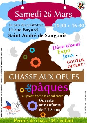 Chasse aux oeufs solidaire à Saint André de Sangonis [333]